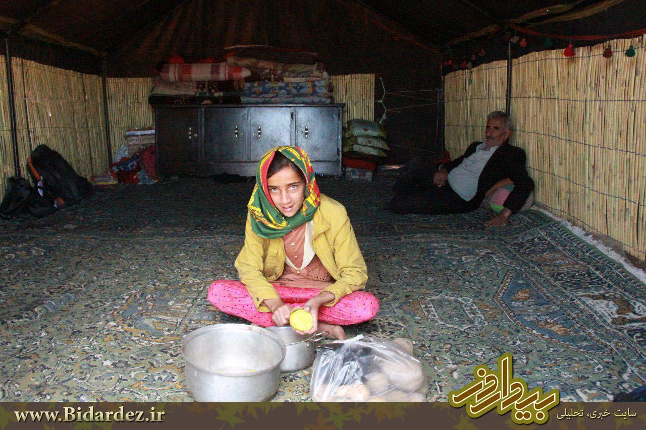 اردوی جهادی ، تمرین قناعت و بندگی