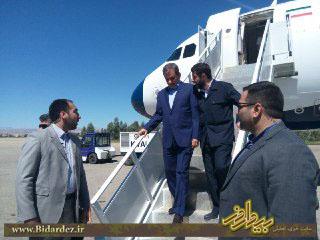 سفر معاون اول رئیس جمهور به دزفول + گزارش تصویری