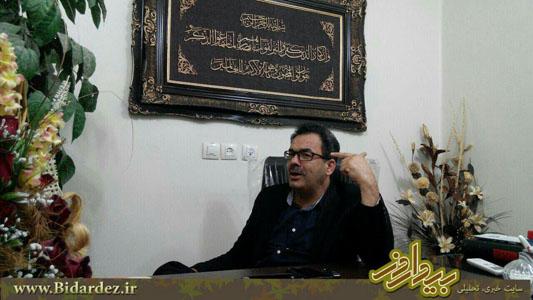 گفتگو با رئیس ستاد روحانی در دزفول