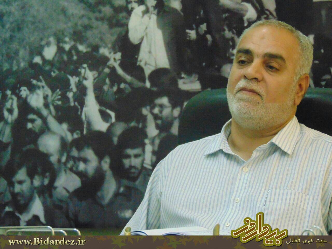 پیگیری روند اجرائی مرکز فرهنگی دفاع مقدس و یادمان شهدای گمنام در گفتگو با بهزاد جولائی