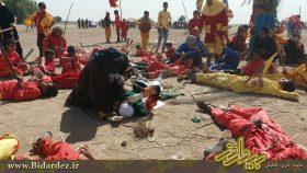 تعزیه اباعبدالله الحسین (ع) / گزارش تصویری