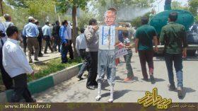 گزارش تصویری قیام پایتخت مقاومت ایران در حمایت از مقاومت فلسطین