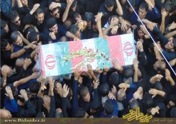 گزارش تصویری از تشییع شهدای حادثه تروریستی اهواز