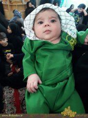 همایش شیرخوارگان حسینی در حرم مطهر محمد بن موسی الکاظم(سبزقبا) علیه السلام