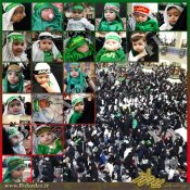 همایش شیرخوارگان حسینی در چغامیش و بخش مرکزی دزفول