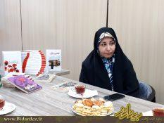 مصاحبه با نویسنده جوان کتاب تحسین شده ی عصمت خانم سیده رقیه آذرنگ/۲