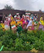 جشن تولد چهل سالگی انقلاب اسلامی در روستای بنوت بالا
