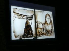 هنرنمایی فاطمه عبادی در کنگره ملی شهیده عصمت پورانوری در دزفول