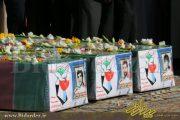 تشیع پرشور شهیدان تازه تفحص شده دزفول
